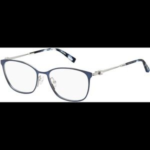 MaxMara MM1355 FLL Blue and Silver stainless steel